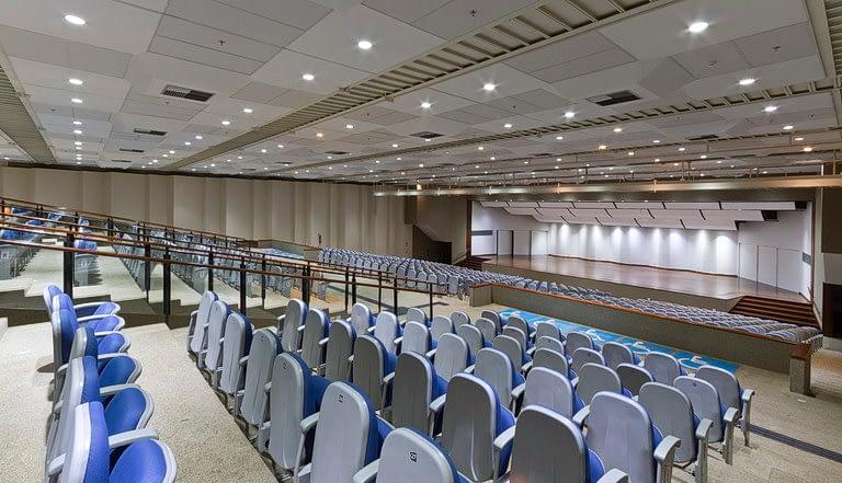 Auditório Planalto vista para o palco