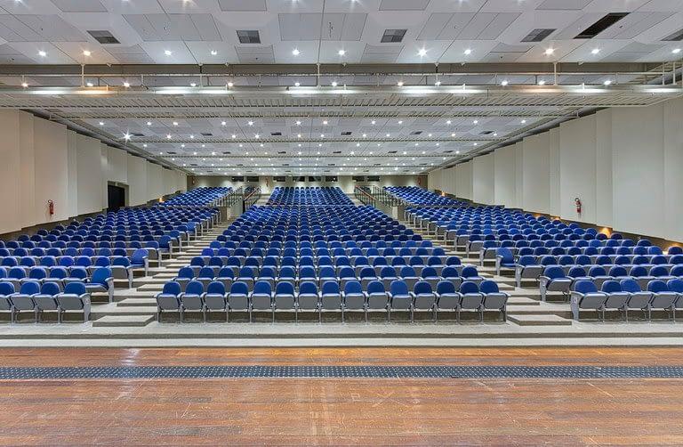 Auditório Planalto vista para cadeiras