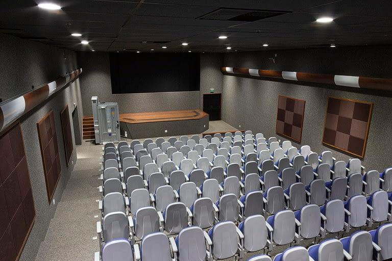 Auditório Buriti vista para o palco
